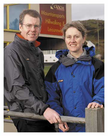 Neil and Helen Urquhart